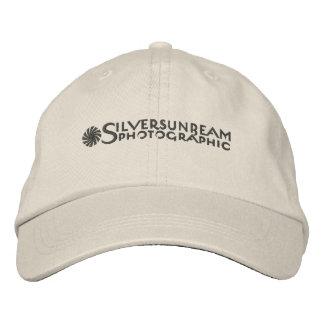 Silversunbeam bordó el casquillo gorros bordados
