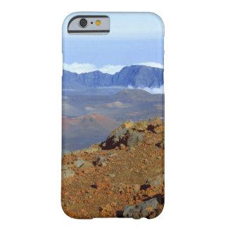 Silversword en borde del cráter de Haleakala de 2 Funda De iPhone 6 Barely There