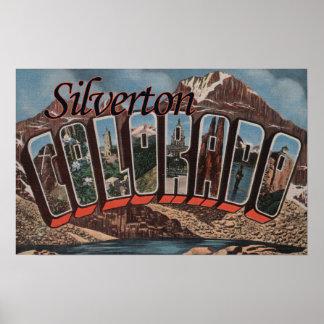 Silverton, Colorado - escenas grandes de la letra Posters