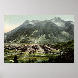 Silverton, paisaje escénico de Colorado Impresiones