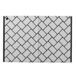 Silvery Basket Weave 2 iPad Air Case