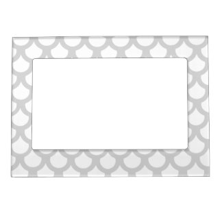 Silvery Fish Scale 1 Magnetic Picture Frame