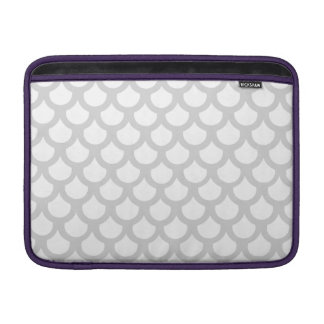 Silvery Fish Scale 1 Sleeve For MacBook Air