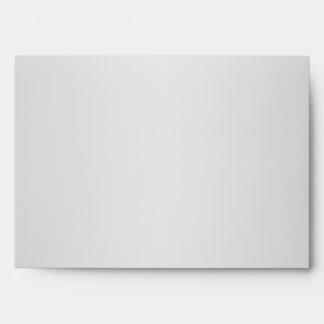 Silvery Gray and Purple Glitter Polka Dot 5x7 Envelope