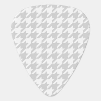 Silvery Houndstooth 1 Guitar Pick