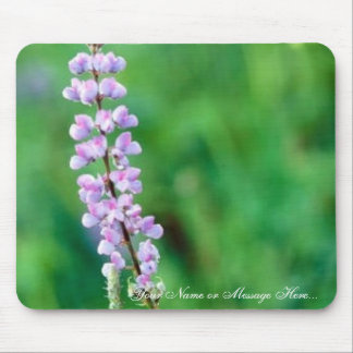 Silvery Lupine Mouse Pad