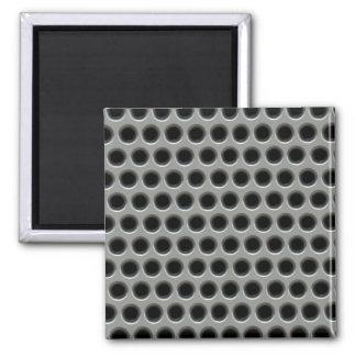 Silvery Metal Mesh Magnet
