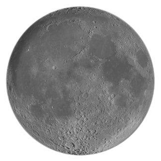 Silvery Moon plate