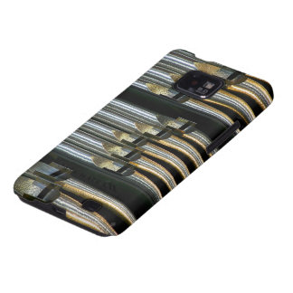 Silvery organ pipes galaxy s2 case
