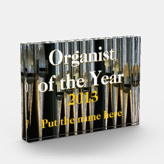 Silvery Organist of the Year Award