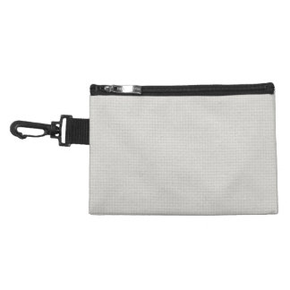 Silvery Quilted Accessory Bags