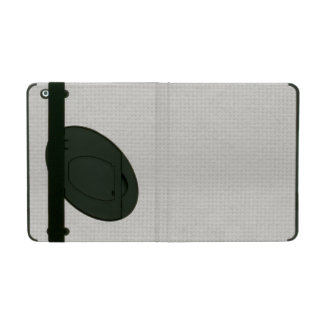 Silvery Quilted iPad Folio Cases