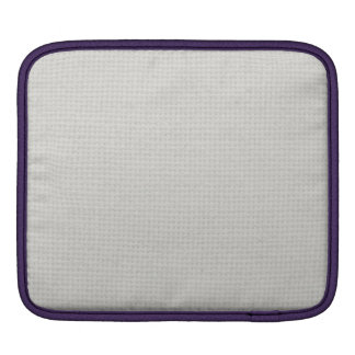 Silvery Quilted iPad Sleeves