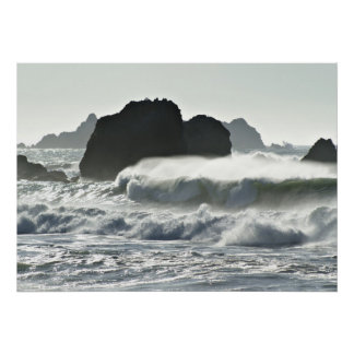 Silvery Sea Poster