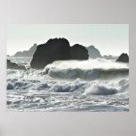 Silvery Sea Print