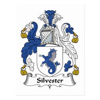 Silvester Family Crest Postcard