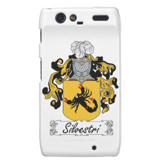 Silvestri Family Crest Droid RAZR Covers