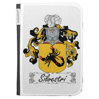 Silvestri Family Crest Kindle 3G Cover