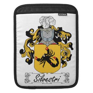 Silvestri Family Crest iPad Sleeves