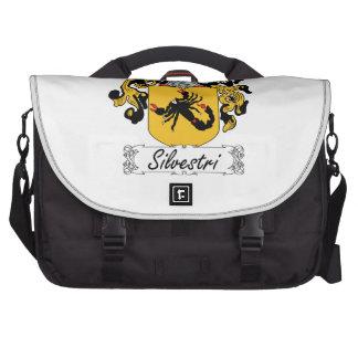 Silvestri Family Crest Laptop Bags