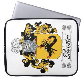 Silvestri Family Crest Laptop Sleeves
