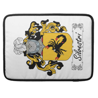 Silvestri Family Crest Sleeve For MacBook Pro