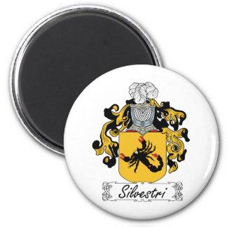 Silvestri Family Crest Fridge Magnets