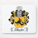 Silvestri Family Crest Mouse Mat