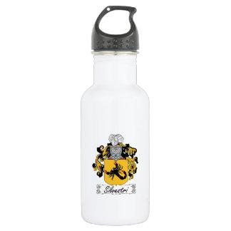 Silvestri Family Crest 18oz Water Bottle