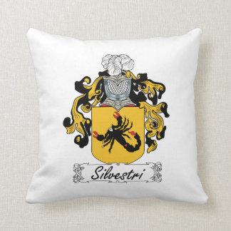 Silvestri Family Crest Pillow