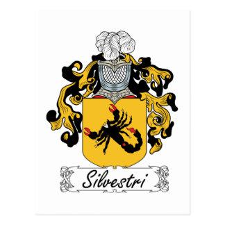 Silvestri Family Crest Post Cards