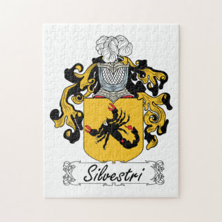 Silvestri Family Crest Puzzle