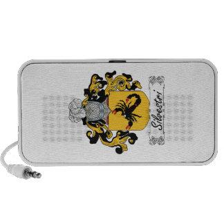 Silvestri Family Crest iPod Speaker