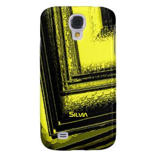 Silvia Black and Yellow Samsung Galaxy S4 case