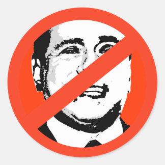 Silvio Berlusconi Etiqueta Redonda