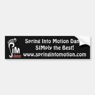 SIM Bumper Sticker Car Bumper Sticker