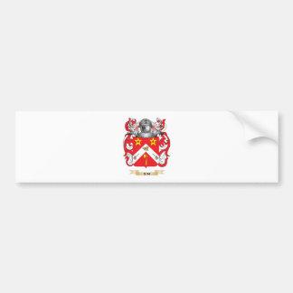 Sim Coat of Arms (Family Crest) Car Bumper Sticker