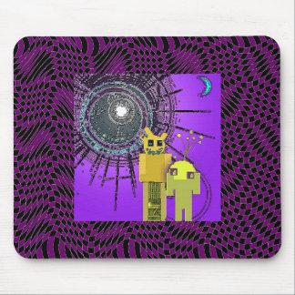 Sim-Sam & Tim-Tam The RoBoT Brothers Mouse Pad