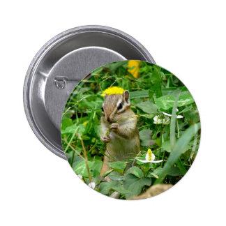 Sima lith can badge chipmunk badge button