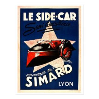 Simard - coche lateral del Le Postal