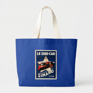 Simard - Le Side Car Large Tote Bag