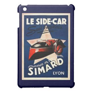 Simard - Le Side Car - Lyon Vintage French Ad iPad Mini Covers