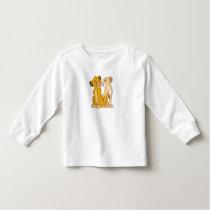 Simba and Nala Disney Toddler T-shirt
