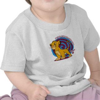 Simba coloca Disney orgulloso Camisetas