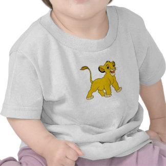 Simba Disney del león de rey Camiseta
