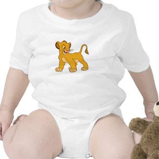Simba Disney del león de rey Camisetas