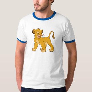 Simba Disney del león de rey Polera