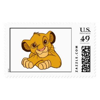 Simba Disney Postage