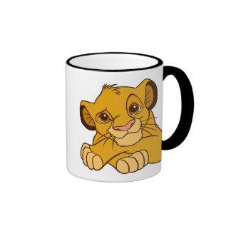 Simba Disney Ringer Coffee Mug