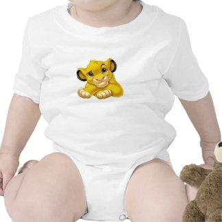 Simba el rey Raised Eyebrow Disney del león Trajes De Bebé